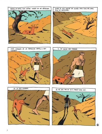 Page 4 Socrate le demi-chien tome 1 - héraclès