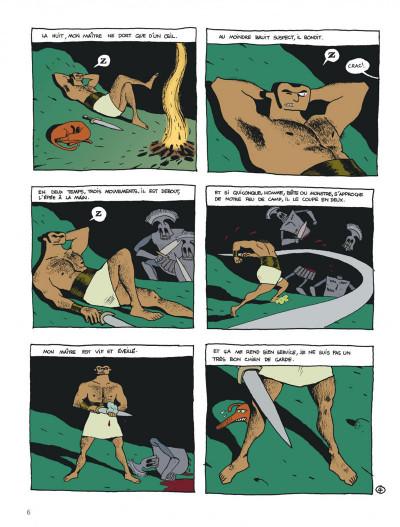 Page 6 Socrate le demi-chien tome 1 - héraclès