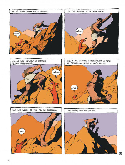 Page 8 Socrate le demi-chien tome 1 - héraclès