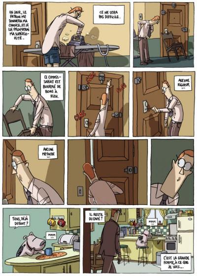 Page 2 inspecteur moroni tome 1 - premiers pas