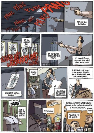 Page 4 inspecteur moroni tome 1 - premiers pas