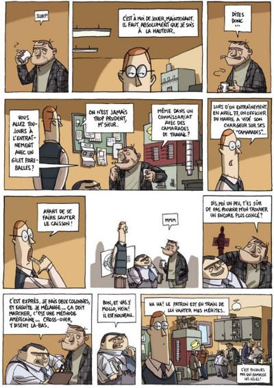 Page 5 inspecteur moroni tome 1 - premiers pas
