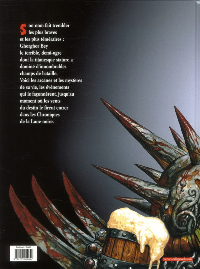 Dos Les arcanes de la lune noire tome 1 - ghoghor bey