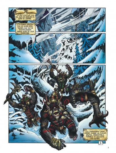 Page 5 Les arcanes de la lune noire tome 1 - ghoghor bey
