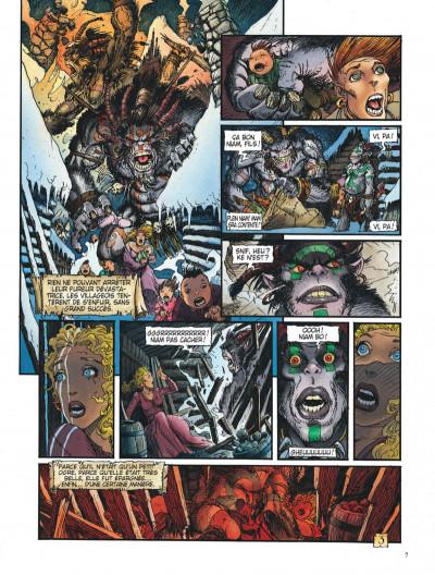 Page 7 Les arcanes de la lune noire tome 1 - ghoghor bey
