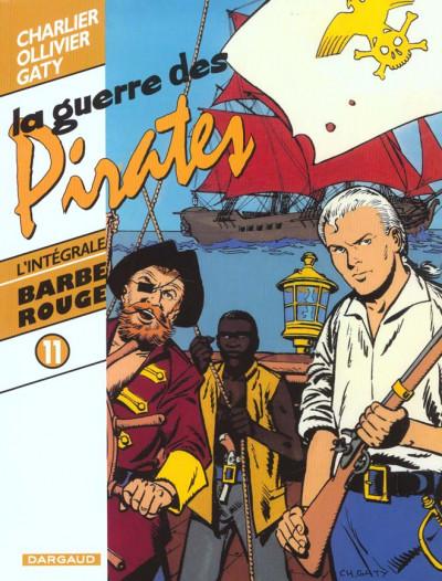 Couverture barbe rouge - intégrale tome 11 - la guerre des pirates