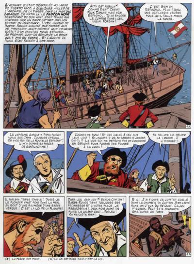 Page 1 barbe rouge - intégrale tome 11 - la guerre des pirates