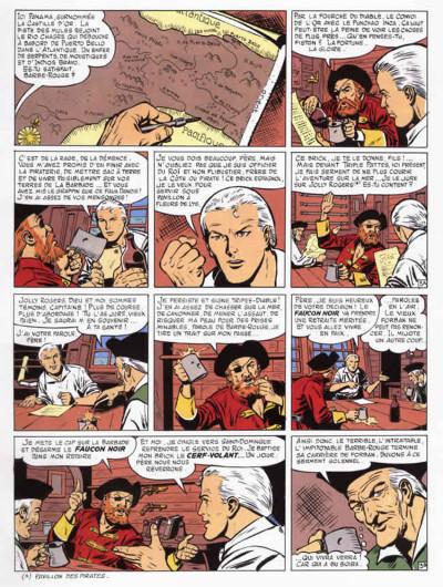Page 3 barbe rouge - intégrale tome 11 - la guerre des pirates