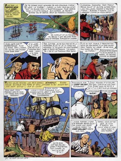 Page 4 barbe rouge - intégrale tome 11 - la guerre des pirates