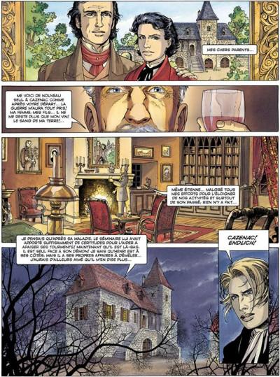 Page 1 La croix de cazenac tome 3 - le sang de mon père