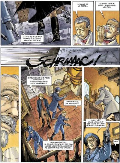 Page 2 La croix de cazenac tome 3 - le sang de mon père