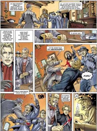 Page 3 La croix de cazenac tome 3 - le sang de mon père