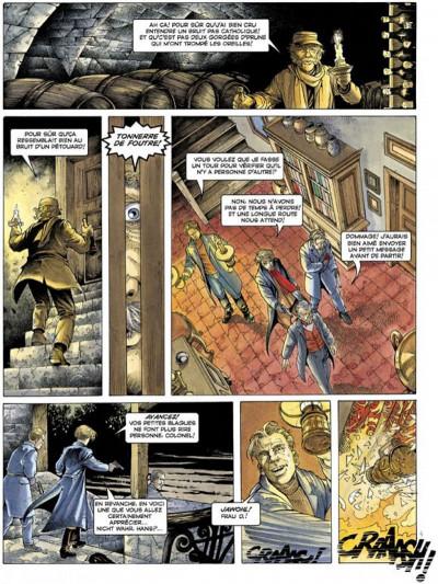 Page 4 La croix de cazenac tome 3 - le sang de mon père