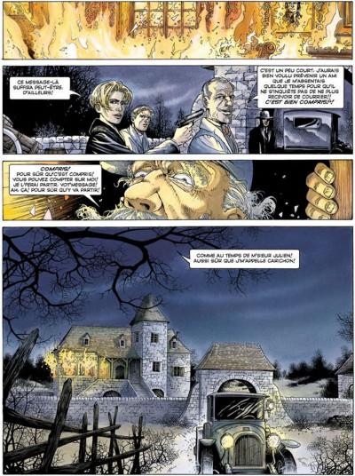 Page 5 La croix de cazenac tome 3 - le sang de mon père