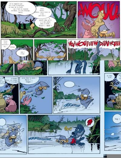 Page 2 Merlin tome 4 - le roman de la mère de renart