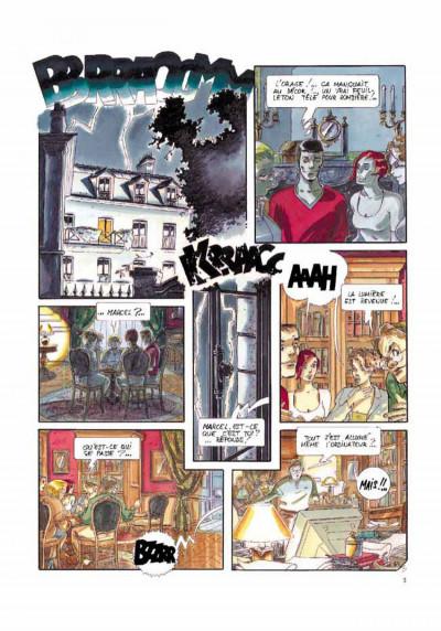 Page 3 La voix des anges tome 1 - castle dew