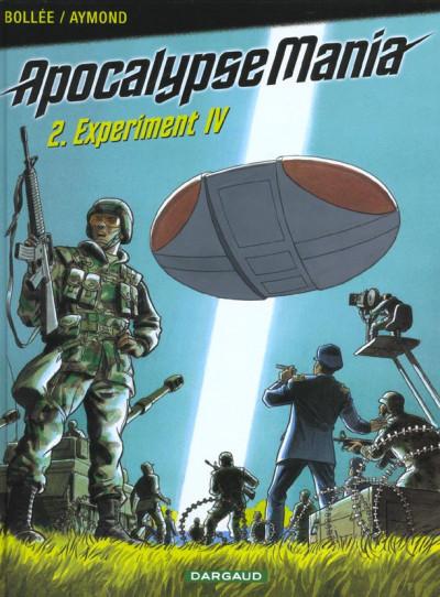 Couverture Apocalypse mania tome 2 - experiment iv