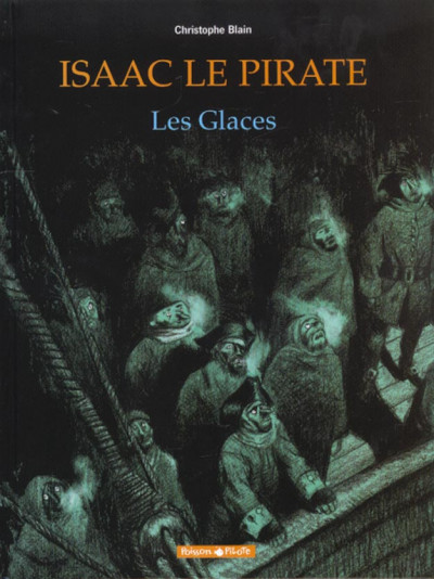 Couverture Isaac le pirate tome 2 - les glaces