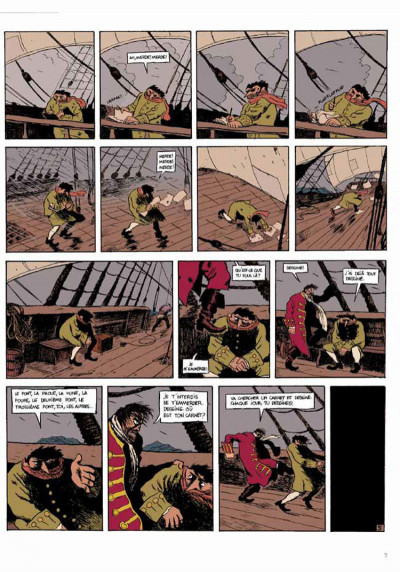 Page 5 Isaac le pirate tome 2 - les glaces