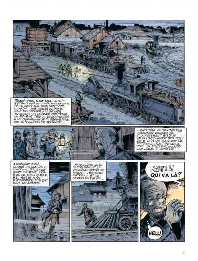 Page 3 La jeunesse de blueberry tome 12 - dernier train pour washington