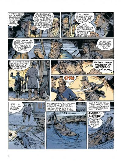 Page 4 La jeunesse de blueberry tome 12 - dernier train pour washington
