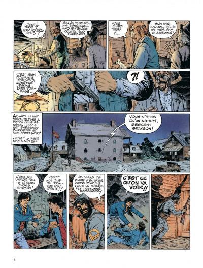 Page 6 La jeunesse de blueberry tome 12 - dernier train pour washington