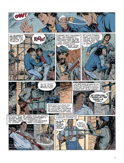 Page 7 La jeunesse de blueberry tome 12 - dernier train pour washington
