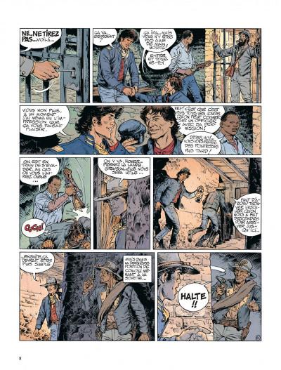 Page 8 La jeunesse de blueberry tome 12 - dernier train pour washington