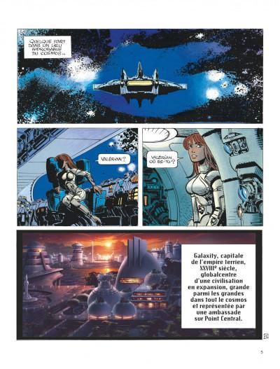 Page 5 Valérian tome 18 - valerian agent spacio-temporel