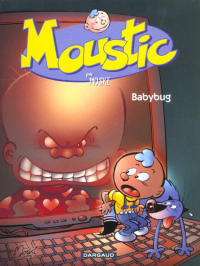 Couverture Moustic tome 2 - baby-bug