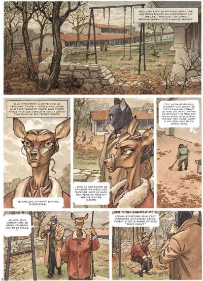 Page 1 Blacksad tome 2