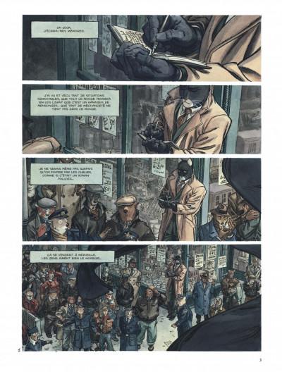 Page 3 Blacksad tome 2