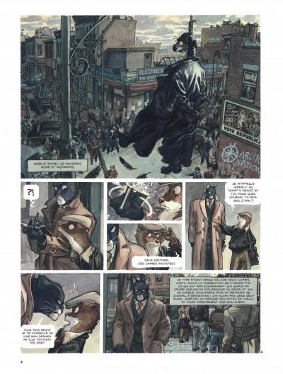 Page 4 Blacksad tome 2