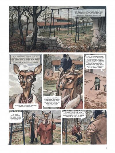 Page 5 Blacksad tome 2