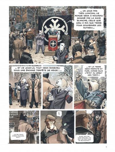 Page 7 Blacksad tome 2
