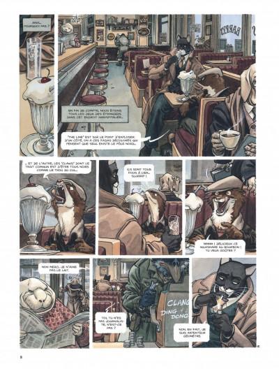 Page 8 Blacksad tome 2