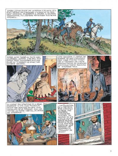Page 3 La jeunesse de blueberry tome 13 - il faut tuer lincoln
