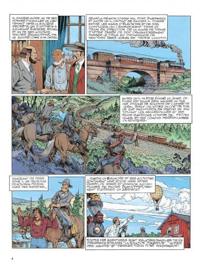 Page 4 La jeunesse de blueberry tome 13 - il faut tuer lincoln