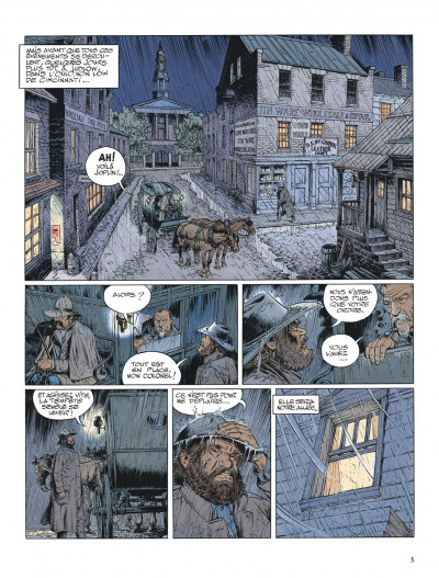 Page 5 La jeunesse de blueberry tome 13 - il faut tuer lincoln