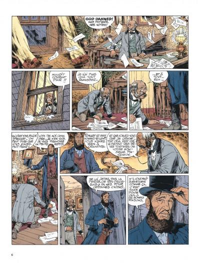 Page 6 La jeunesse de blueberry tome 13 - il faut tuer lincoln