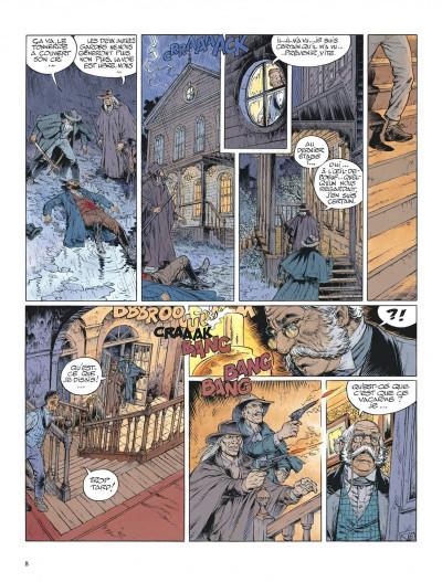 Page 8 La jeunesse de blueberry tome 13 - il faut tuer lincoln