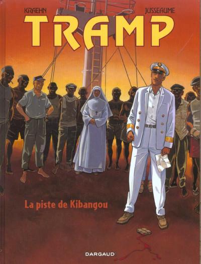 Couverture Tramp tome 6 - la piste de kibangou