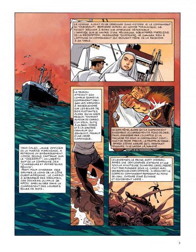Page 1 Tramp tome 6 - la piste de kibangou