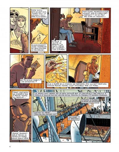 Page 4 Tramp tome 6 - la piste de kibangou