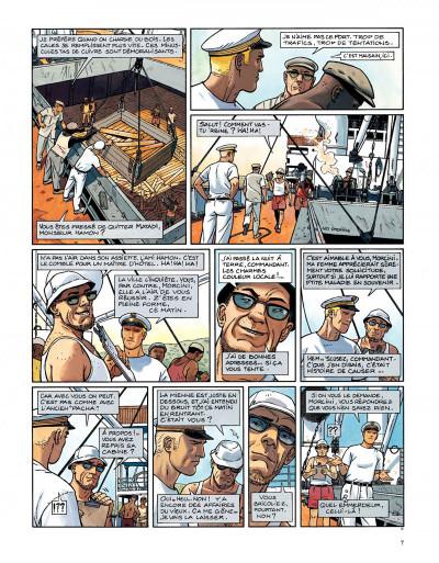Page 5 Tramp tome 6 - la piste de kibangou