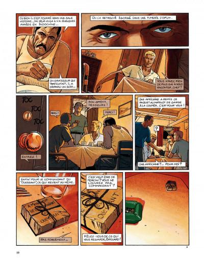 Page 8 Tramp tome 6 - la piste de kibangou