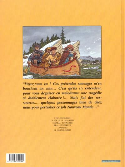 Dos plume aux vents tome 3 - beau ténébreux