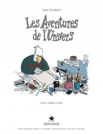 Page 2 Les formidables aventures sans lapinot tome 1 - les aventures de l'univers