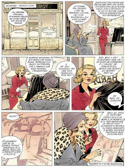 Page 2 Agence hardy tome 2 - la trace pâle