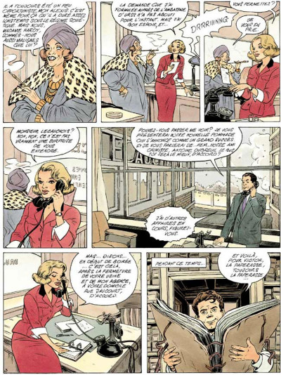 Page 3 Agence hardy tome 2 - la trace pâle